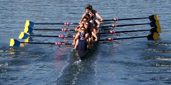 Photo: The Cal Crew didn't quite hit its stride until the Pac-10 Championship near the end of the season, but still came in third at the IRAs.