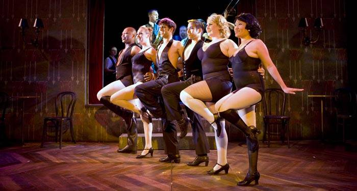 Photo: A CHORUS LINE. This small production of