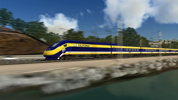 Photo: State officials say that the newly approved high-speed rail's