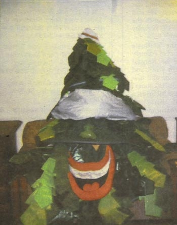 Photo: The Stanford tree was relieved of its duties at Stanford by a group calling itself the