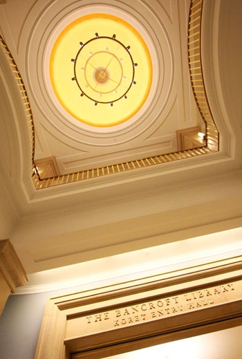 Photo: Bancroft Library reopens.