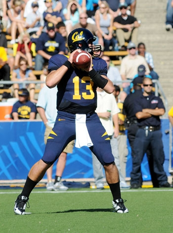 Photo: <b>Quarterback Kevin Riley</b> will take reps alongside Brock Mansion and Beau Sweeney in spring ball this year.