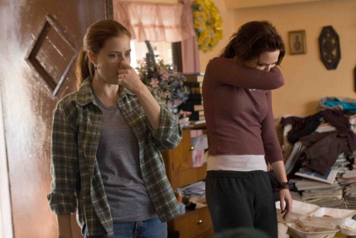 Photo: A sister act. Amy Adams and Emily Blunt star as sisters who enter the business of crime scene cleanup in the movie 'Sunshine Cleaning.'