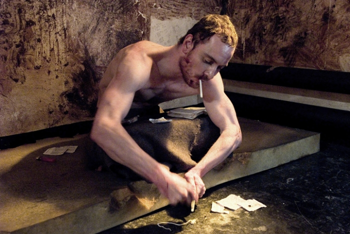 Photo: Doing time. Michael Fassbender plays protagonist Bobby Sands in the emotional film 'Hunger.'