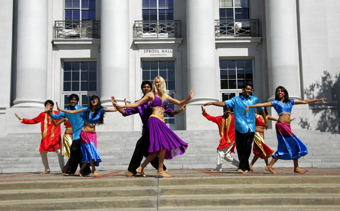 Photo: Ishaara, a UC Berkeley Bollywood dance team, beat out more than 70 other teams to appear on the hit show America's Got Talent.