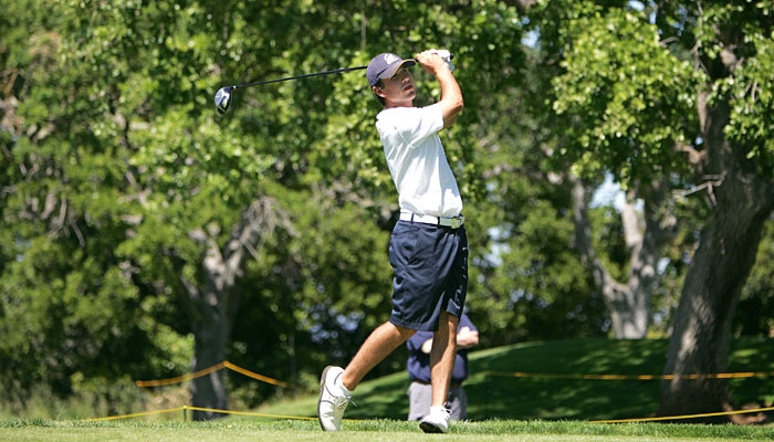 Photo: Cal golfer Stephen Hale posted a 1-over 73 on the final day of competition at the Golfweek Challenge.
