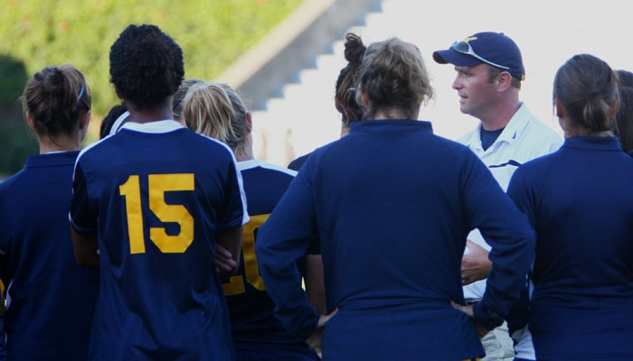 Photo: <b>Neil McGuire</b> left his position as the head coach of the Cal women's soccer team on Friday. McGuire joined the Bears in 2007 and had a 32-27-2 record during his stint.