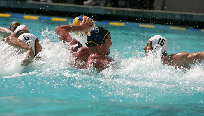 Photo: Junior Zach White scored four goals to lead Cal to victory over unbeaten Stanford in the semifinal game of the SoCal Invitational.