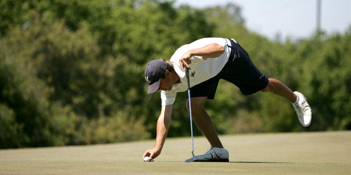 Photo: <b>Stephen Hale</b>captured the individual title at the MacKenzie Invitational with scores of 68 and 64 in the first two rounds. The third round was canceled due to rain.