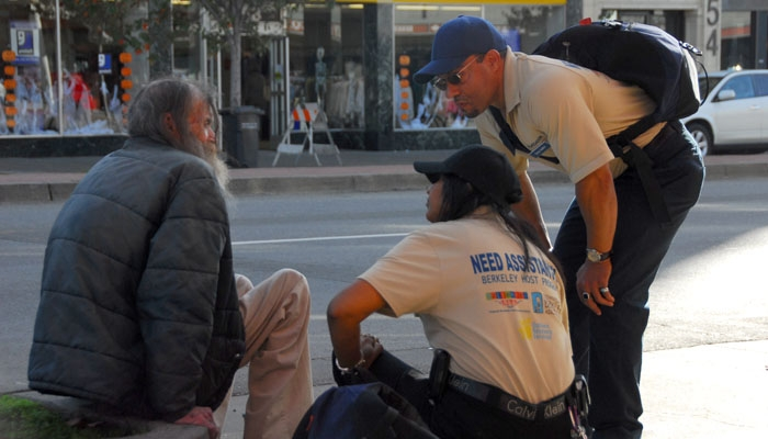 Photo: Members of the Berkeley Host Ambassador Program have for the past year been making connections with the homeless in Downtown Berkeley to improve