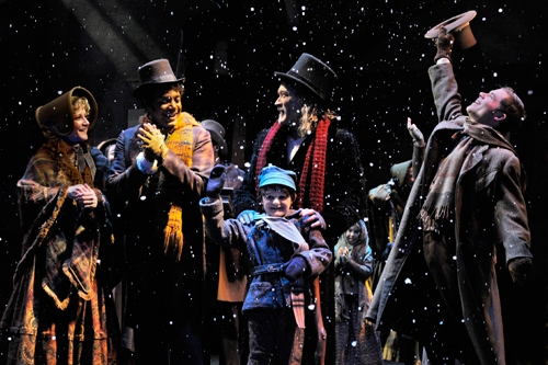 Photo: James Carpenter plays Scrooge, the crotchety miser who discovers the beauty of Christmas, in A.C.T.'s  production of the timeless Dickens classic 'A Christmas Carol.'