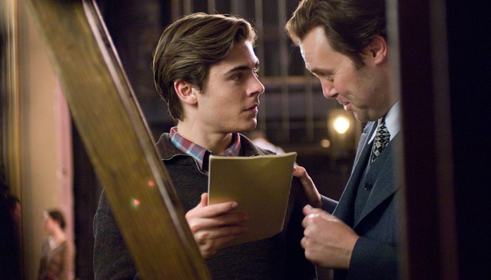 Photo: <b>Magical theater.</b> Zac Efron plays Richard Samuels and Christian McKay plays Orson Welles in director Richard Linklater's 'Me and Orson Welles.'