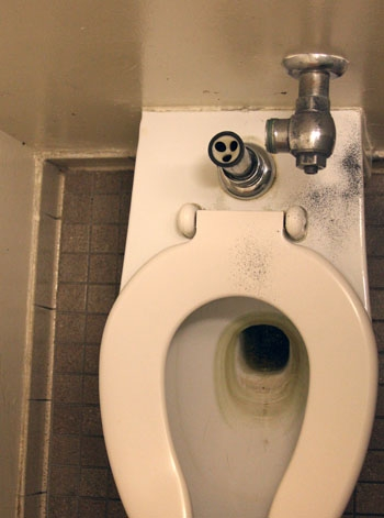 Photo: At least 19 flushometers have been stolen from toilets in buildings across UC Berkeley since Friday. Police say each one would cost the campus approximately $255 to replace.