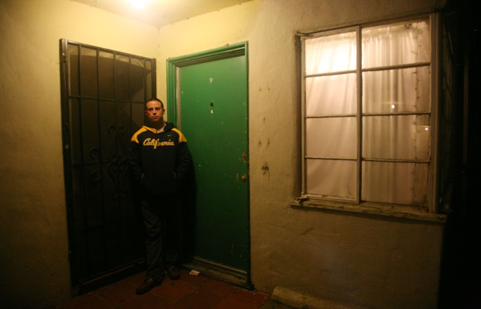 Photo: Aran Nafisi-Movaghar, a UC Berkeley student, lives in one of the city's many 'soft-story' buildings, which are prone to earthquake damage.