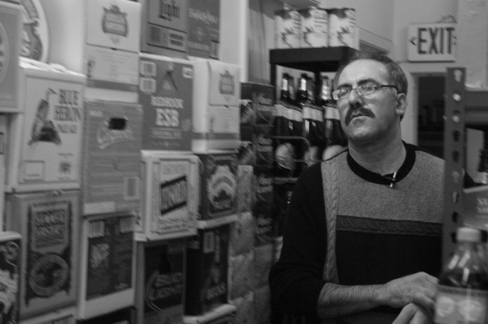Photo: Palestinian corner store owner Yousef Elhaj makes his life in San Francisco, over 7,000 miles away from his family in Bethlehem.