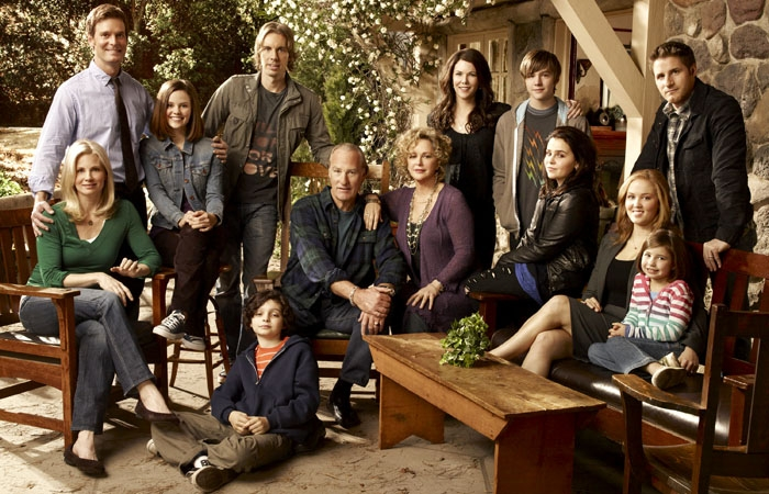 Photo: Peter Krause (top left), Craig T. Nelson (seated, center), Lauren Graham (top row, third from right) and others star in NBC's new drama 'Parenthood,' which is set in Berkeley and the East Bay.