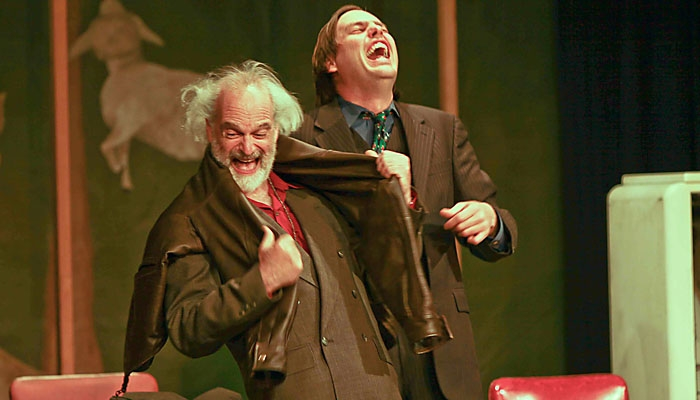 Photo: <b>Community</b>. Though the Actors Ensemble of Berkeley puts up an admirable effort, the original material hinders their production.