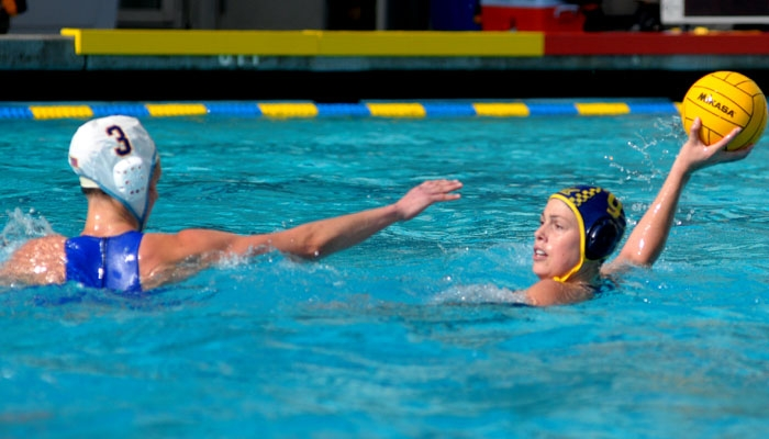 Photo: Stephanie Schnugg and the Cal water polo team struggled in two losses this weekend. The Bears now await a postseason announcement.