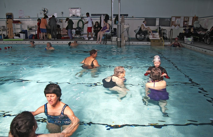 Photo: The Berkeley High School warm water pool, used for therapeutic and exercise programs, will close after Measure C failed to pass.