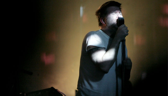 Photo: The sound of silver.  LCD Soundsystem's James Murphy rocked the Fillmore Thursday night with a salt and pepper 'do, amid rumors that the band is on the brink of retirement.