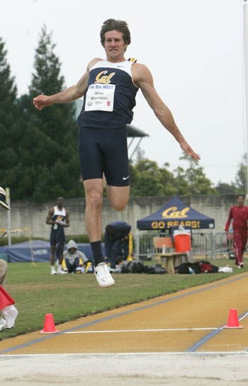 Photo: Junior transfer Mike Morrison made an immediate impact at Cal, taking third at the NCAA Indoor Championships in the heptathlon and second at Outdoor Championships.