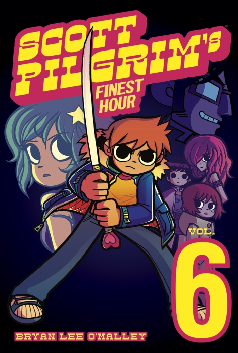 Photo: Bryan Lee O'Malley's final literary installment of the Scott Pilgrim comic series comes just in time to prepare fans for the film adaptation to be released on August 13.