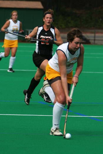 Photo: Jessica Kreck started all 19 games for the Bears last year as a sophomore, scoring five goals to rank third on the team. She is one of only five upperclassmen on the roster.