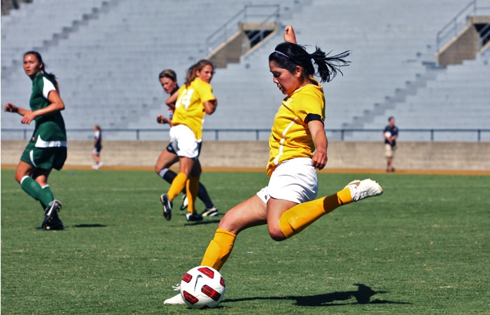 Photo: Senior midfielder Emily Shibata has started seven of Cal's nine games. The Bears are coming off of a loss to No. 3 Portland, their first of the season. They have three ties.many' yesterday, but recent layoffs, freezes and shaky benefits programs have many staffers worried. Some employees even.