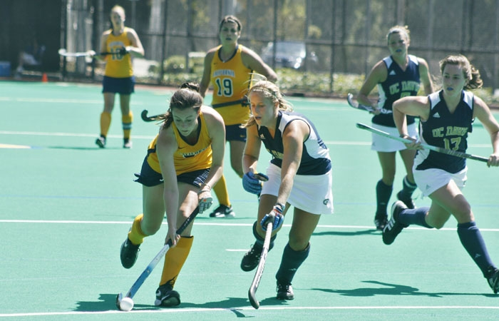 Photo: The Cal field hockey team held defending champion North Carolina to just one goal, something that no other team has done this year.