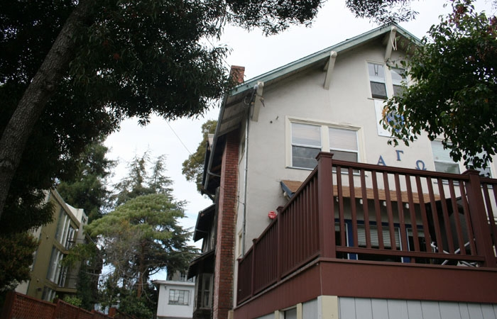 Photo: UC Berkeley's Alpha Gamma Omega fraternity is one of two fraternities involved in settlement discussions with neighbors over excessive noise.