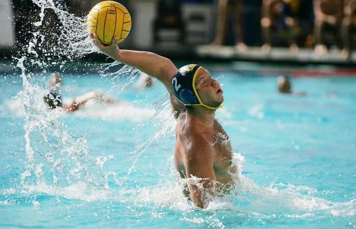 Photo: Junior Luka Saponjic notched a pair of goals in Cal's 11-8 win over UCLA. He scored once in the Bears' season-ending loss to the Bruins last fall in the MPSF semifinals.
