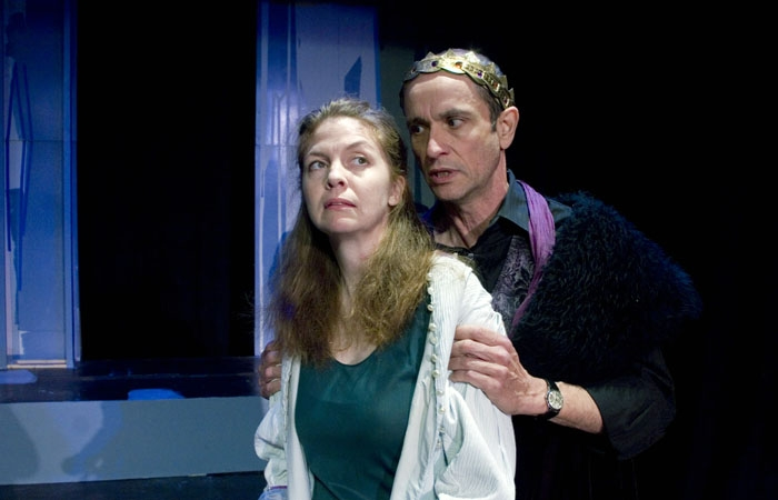 Photo: Richard Aiello and Kerry Gudjohnsen in Actors Ensemble of Berkeley's production of Shakespeare's 'The Winter's Tale.'
