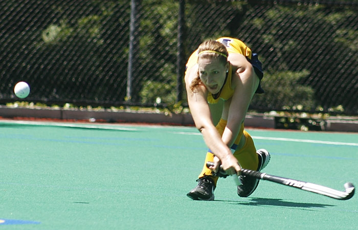 Photo: Defender Lisa Lohre took two shots in her final game at Maxwell Family Field. She was one of three players who ended their home career schedules with a 4-2 loss to Stanford.