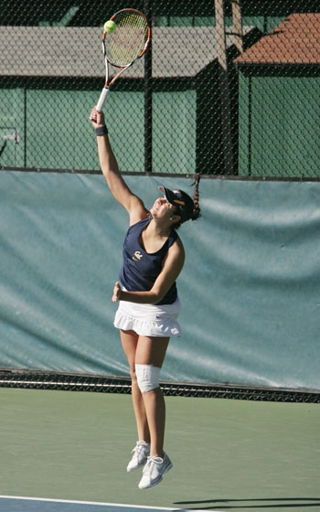 Photo: Jana Juricova has defeated the Cardinal's Hilary Barte just once in five career match-ups. The junior standout may get another shot at Barte this weekend in New York.