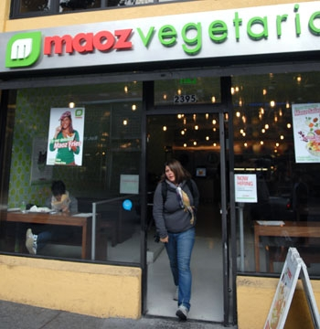 Photo: Josh Shaeffer, a Maoz Vegetarian franchise owner, is currently in negotiations with the ASUC Store Operations Board to open an organic food store on campus.