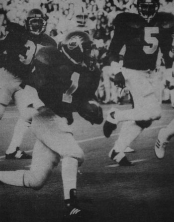 Photo: A photo of 'The Play' from the 1982 Big Game is now the subject of a copyright lawsuit, as the original photographer is alleging that a website sold unauthorized prints of the photo.