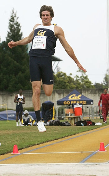 Photo: Decathlete Mike Morrison placed second at NCAAs last year, leading the Bears to their highest point tally since 2001. Cal will ease into the 2011 campaign this weekend.