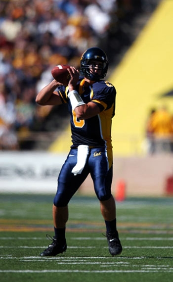 Photo: Aaron Rodgers amassed 5,469 passing yards and 43 touchdowns in two seasons at Cal. He will be the fourth Bears quarterback to make a start under center in the Super Bowl.