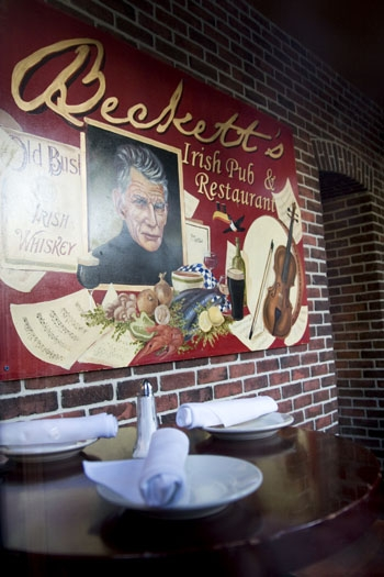 Photo: Beckett's Irish Pub and Restaurant had planned to close in November but will remain open due to delays in transferring its liquor license to new owners.