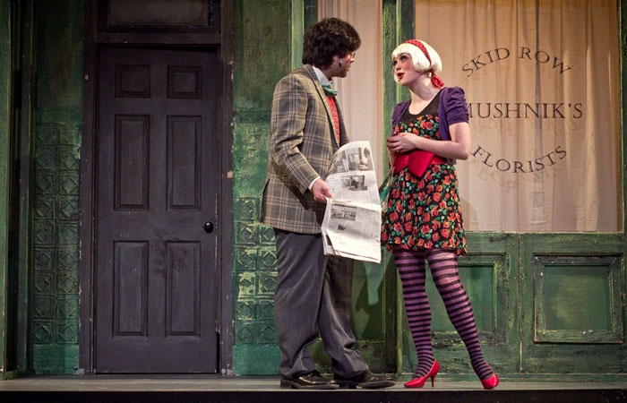 Photo: Stage fright. Youthful energy pervades the Berkeley Playhouse Teen Company's production of the oft-performed 'Little Shop of Horrors.'