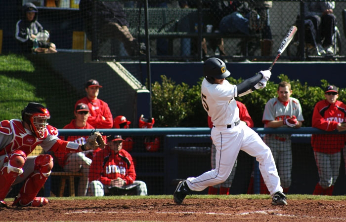 Photo: Marcus Semien went 1-for-4 and scored a run in Cal's 6-5 win over Utah on Sunday.