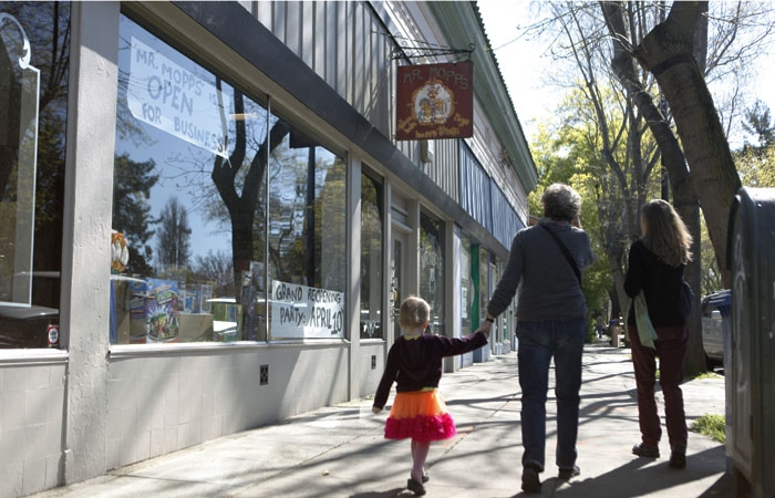 Photo: Mr. Mopps' Children's Books and Toys, slated to close last March, was acquired by two new owners and only briefly shut down for renovations.