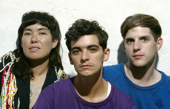 Photo: Gender roles. A former member of electropop band Le Tigre, singer JD Samson, along with her new band MEN, brings feminism and gender issues to the forefront of her music.