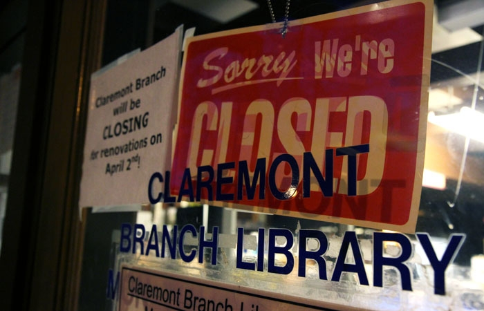 Photo: The Claremont branch of the Berkeley Public Library is set to be renovated after its upcoming April 4 closure.