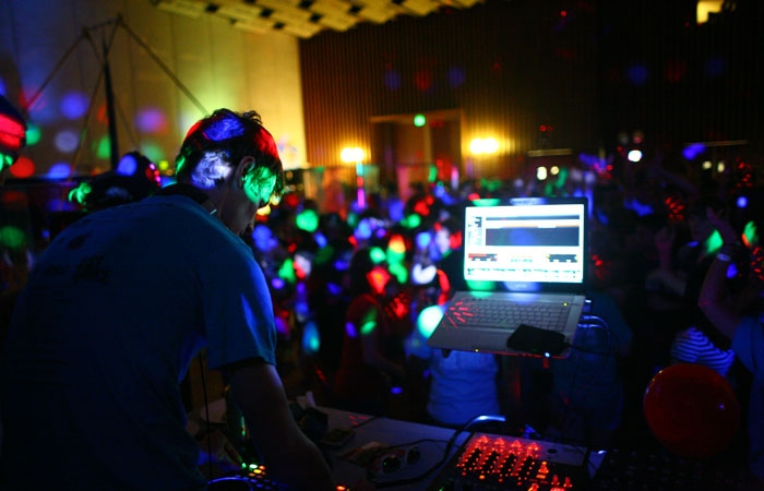 Photo: UC Berkeley's annual Dance Marathon was held Friday night.