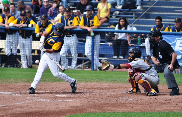 Photo: Austin Booker went 2-for-4 with two RBI in Cal's 9-6 victory over USC on Sunday. The senior outfielder is hitting .333 this season and has 11 RBI.Austin Booker went 2-for-4 with two RBI in Cal's 9-6 victory over USC on Sunday. The senior outfielder is hitting .333 this season and has 11 RBI.
