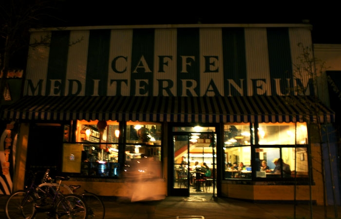 Photo: Caffe Mediterraneum owner Craig Becker is looking to make his business open 24 hours a day, seven days a week as part of an effort to revitalize Telegraph at night.