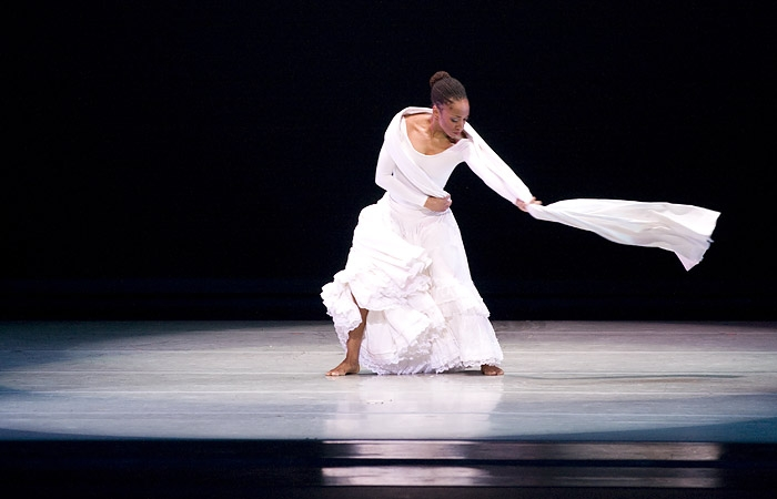 Photo: Celebrating works such as 'Anointed' and 'Revelations' - choreographed by the artist himself - the Alvin Ailey American Dance Theater performed at Zellerbach Auditorium this Sunday.