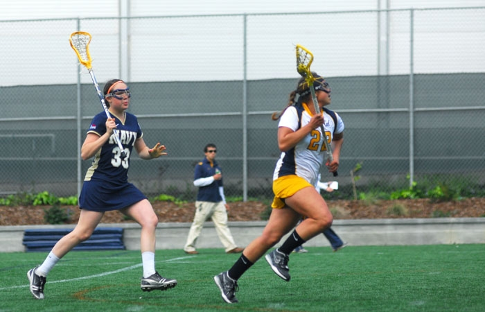 Photo: Junior Tara Arolla leads the Bears with 29 goals in 13 games this season. She also has eight assists.