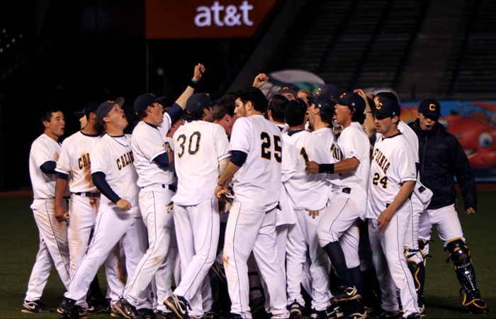 Photo: The Cal baseball team will return for the 2011-12 season and beyond after over $9 million were pledged to the program.
